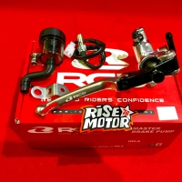 Master Rem Racing Boy S1 kanan silver