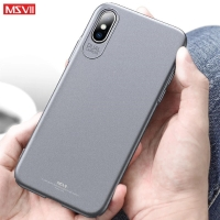 Casing MSVII IPhone X XS XR XS MAX Case (FREE TEMPERED GLASS)
