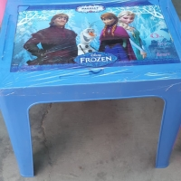 Meja belajar anak/ meja laptop anak Frozen Napolly