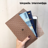 Dompet Amplop/Amplop Kulit/Angpao Kulit/Simple Wallet/Dompet Tipis