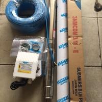 "Pompa Air Satelit 3"" Nasional Mcpump 1/2HP dg kabel biru 50mtr"