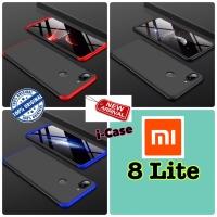 Xiaomi Mi 8 Lite case gkk 360 original - casing cover mi 8 lite