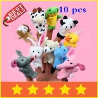Animal Finger Puppets (Boneka Jari Binatang Hewan) Mainan Anak