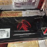 Coklat Premium Dark Compound 5kg Mercolade