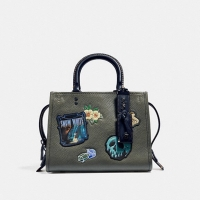 Coach X Disney Rogue 25 With Patches