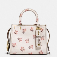 Coach Rogue 25 With Floral Bow Print