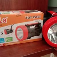 Senter Led 15w+15w - Led Torch Tesla Tld-15151