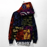 HOODIE JAKET BAPE SHARK PUBG MOBILE CRAZY COLOR SUPER MIRROR 1:1 ORI