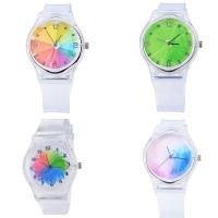 Jam tangan anak wanita remaja perempuan transparan analog hadiah kado