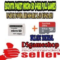 MEMORY CARD PSVITA / SD2VITA PAKET MICRO SD 64GB FULL GAMES PS VITA