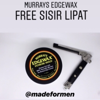 MURRAYS EDGEWAX EXTREME HOLD UKURAN BESAR SUDAH BPOM FREE SISIR LIPAT