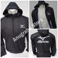 Jaket Sport Mizuno Parasut Despo Metalik / Jaket Olahraga