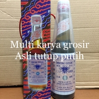 minyak gosok cap tawon asli Makassar Asli tutup putih ukuran 330 ml
