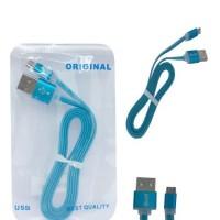 KABEL DATA MERK HYT MICRO USB 2A REAL - Biru