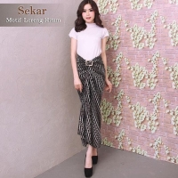 Rok Lilit Serut R052 Motif Batik Parang / Maxi Skirt / Bawahan Kebaya