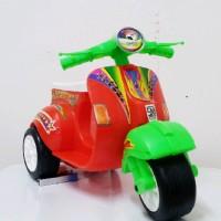 Mainan Motor Vespa Mini / Skuter Anak Balita / Skuter Roda Tiga