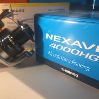 Reel Pancing Shimano Nexave 4000 HG FE Garansi Resmi