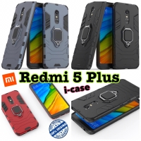 Xiaomi Redmi 5 Plus Case iron armor i-ring - casing cover redmi 5plus