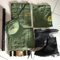 Baju Hansip Full Set / Seragam Hansip Full set