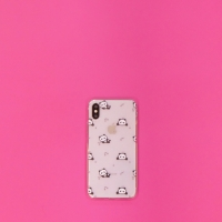 Silicone Panda Clear Case Iphone 6+ 6S+