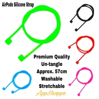 Apple Airpods Anti Lost Strap Loop String Rope Silicone Cord