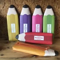 Kotak pensil / tempat pensil /pencil case bentuk pena