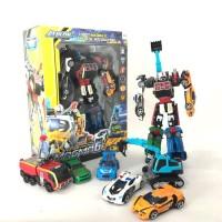 Tobot Magma 6 in 1 JUMBO SIZE Mainan Mobil Berubah Robot