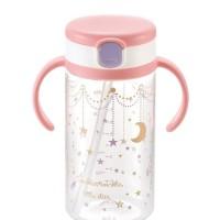 RICHELL Straw Bottles (320mL) twinkle little star