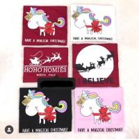 T-shirt / kaos cewek magical christmas / baju natal cewek / kaos natal