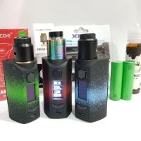 paket lengkap mod rincoe manto 228w authentic kit RDA lengkap vape