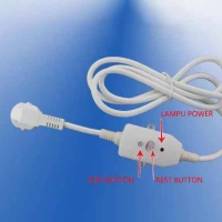 Kabel ELCB Cable & Plug Water Heater Wasser Ariston Pengaman Arus