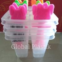 (3pcs) Cetakan Es Stik / Es Lilin / Agar / Jelly / Puding