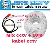 SOUND KHUSUS MIX CCTV SUARA SANGAT JELAS DAN BAGUS + KABEL CCTV 10M