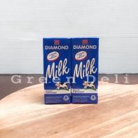 (1 Karton) Diamond Susu UHT Milk Full Cream 200ML