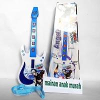 Mainan Gitar Alat Musik Elektrik Mainan Anak Angelo Guitar