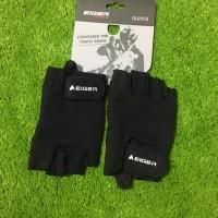 EIGER Gloves Glove Sarung Tangan Riding Basic Half Finger Original