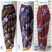 Rok Lilit Serut Batik R077 Motif Batik | Bawahan Kebaya / Wrap Skirt