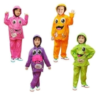 Jas Hujan Anak Kiddo / Kido - Multicolour