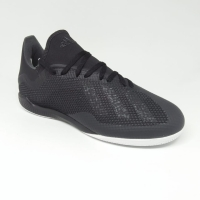 Sepatu futsal adidas original X tango 18.3 IN All black new 2018