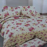 Sprei putih bunga cantik 120x200