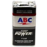 Battery Batere ABC Super Power 9 V Batere Kotak 9V