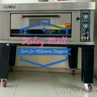 Oven Roti Otomatis Gas 2 Loyang BAKER'S FRIEND