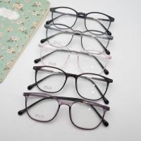 Paket lensa minus antiradiasi frame kacamata pria wanita 2130