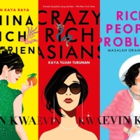 INDO Kevin Kwan Crazy Rich Asians China Rich People Problems novel
