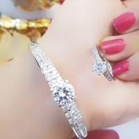 xuping gelang cincin lapis emas putih 24k 1510