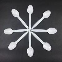 sendok plastik kecil untuk agar-agar, puding, ice cream. SUPER
