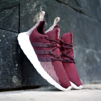 New! Sepatu Adidas Questar flow burgundry Original 100%