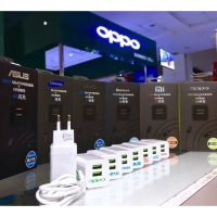 Charger Vooc Oppo Samsung Xiaomi Asus Output 4A 2PORT USB Double Smart