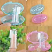 Sikat gigi Baby - Sikat gusi lidah bayi - Infant finger Toothbrush