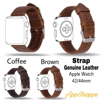 Apple Watch Strap 42 44mm Genuine Leather iWatch Replacement WristBand